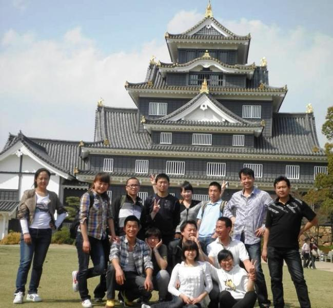 岡山城見学